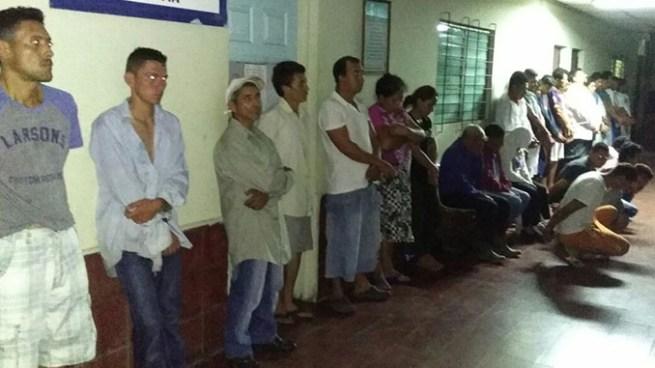 Operativo logra la captura a 47 miembros de la pandilla MS en San Vicente