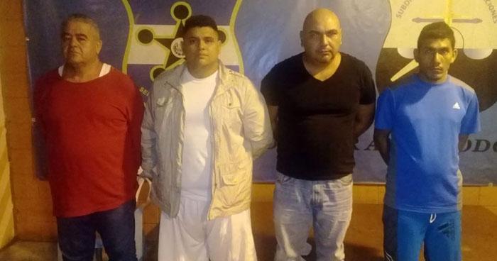 Desarticulan banda dedicaba al robo de locales comerciales en San Vicente y La Paz