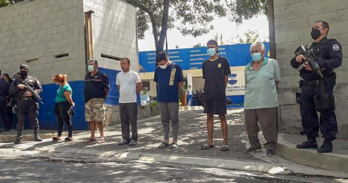Detenidos por utilizar viviendas de manera ilegal en Vista al Lago, Ilopango