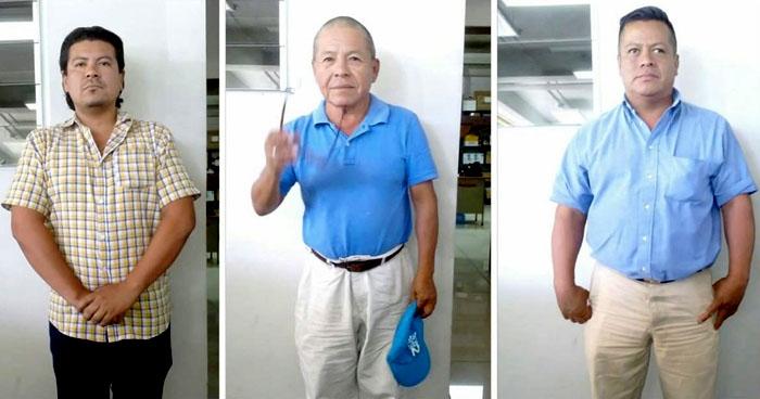 Capturan a falsos contadores que operaban en los alrededores del Ministerio de Hacienda