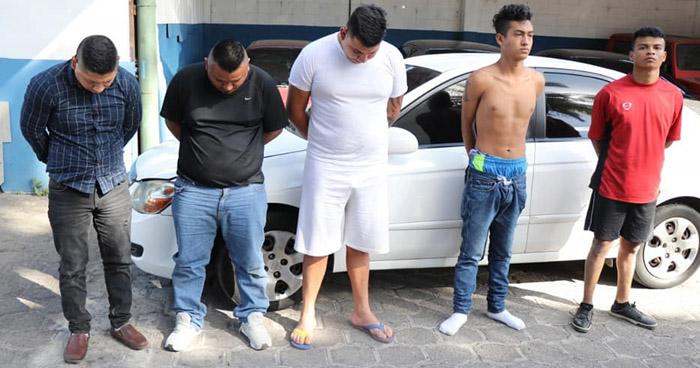 Capturados tras robar $2,000 a un comerciante en Sonsonate