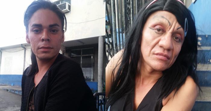 Capturan en San Salvador a sujetos vestidos de mujer por robo