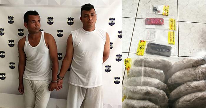 Capturan a pandilleros buscados por extorsión, con alijo de droga en San Miguel