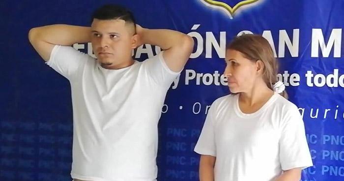 Capturados por trafico de drogas en colonia de San Miguel