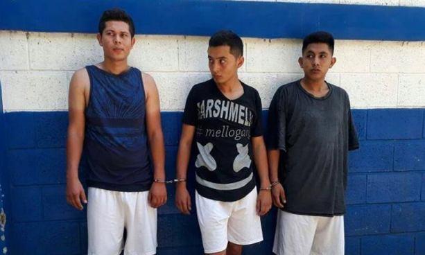 Arrestan a tres pandilleros y les incautan 148 porciones de marihuana en Sonsonate