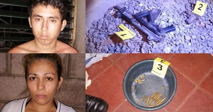 Incautan arma y munición a tres pandilleros capturados en Soyapango