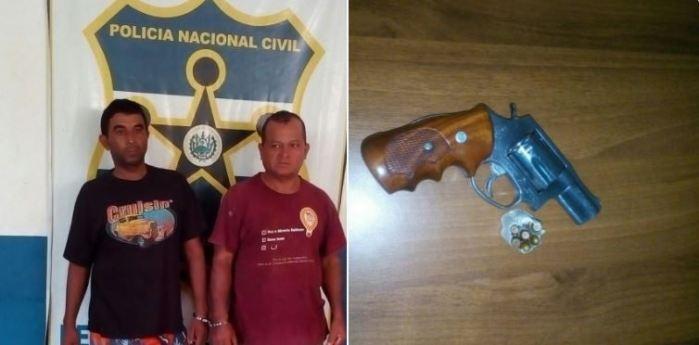 PNC captura a sujeto por portación ilegal de arma y otros delitos en Morazán