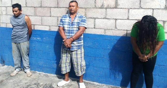 Mujer capturada por trafico de drogas y dos hombres por amenazas y lesiones