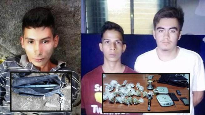 Localizan escondite de delincuentes, realizan capturas e incautan ilícitos en San Salvador