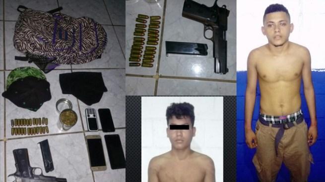 Cabecilla de pandilla es capturado tras persecución en Conchagua, La Unión y le incautan varios ilícitos