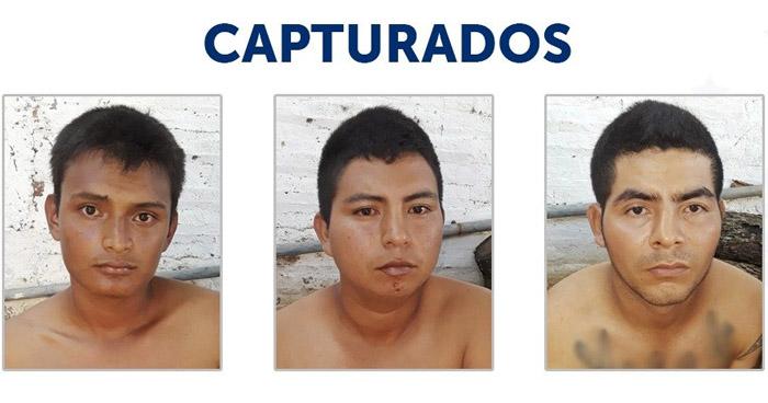 Capturan a pandilleros vinculados a dos homicidios en Atiquizaya, Ahuachapán