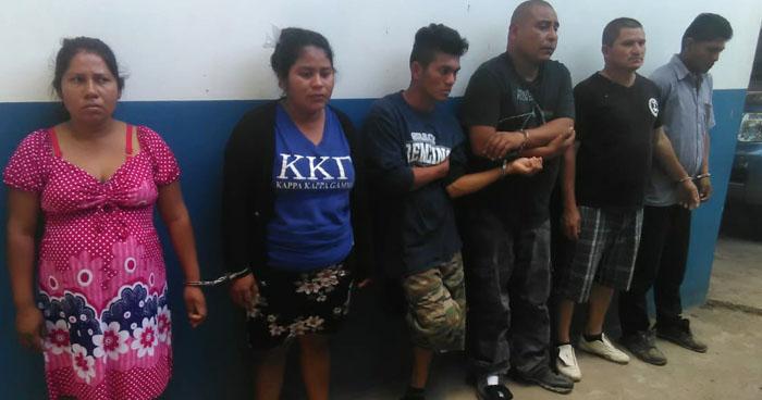 Abogados y pandilleros entre los capturados durante operativos en el occidente del país