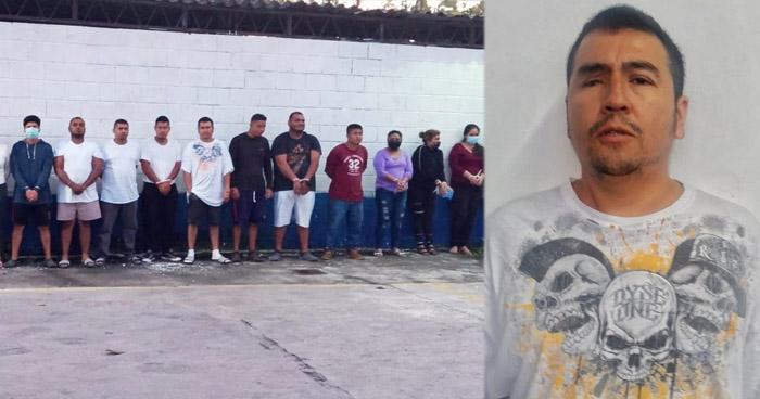 Capturan a líder de la MS-13 durante operativo en San Pedro Perulapán