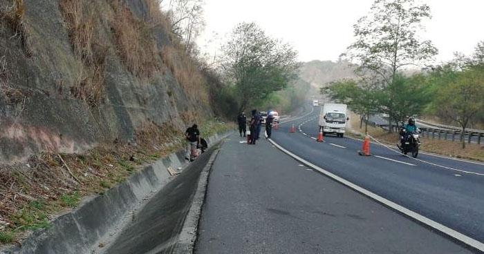 Encuentran cadáver de un hombre sobre carretera de Oro, Ciudad Delgado