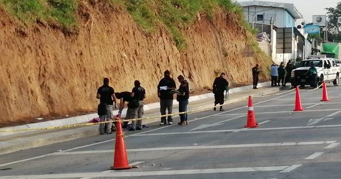 Encuentran cadáver de una persona en la carretera al puerto de La Libertad