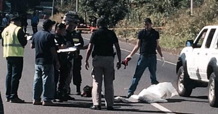 Anciano muere al ser atropellado cuando se disponía a cruzar carretera de Santa Ana
