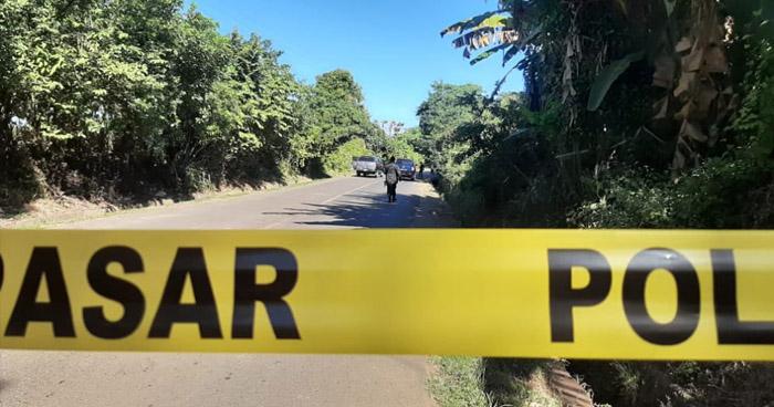 Asesinan y abandonan cadáver en carretera a San Francisco Javier, Usulután