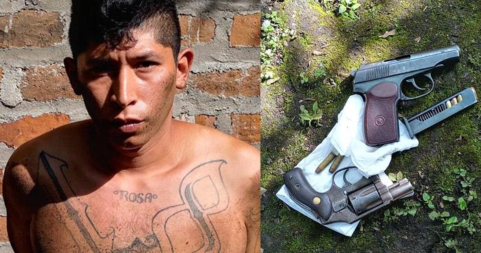 Pandilleros detenidos en casa destroyer de San Salvador