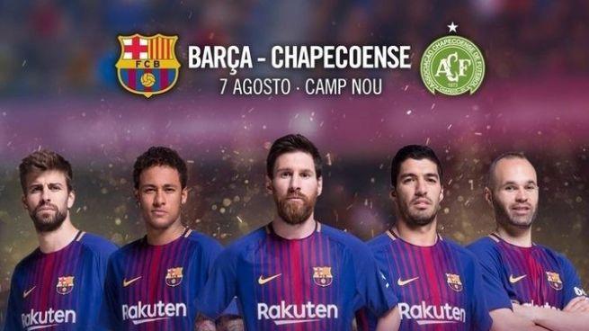 FC Barcelona jugará contra el Chapecoense por el trofeo Joan Gamper