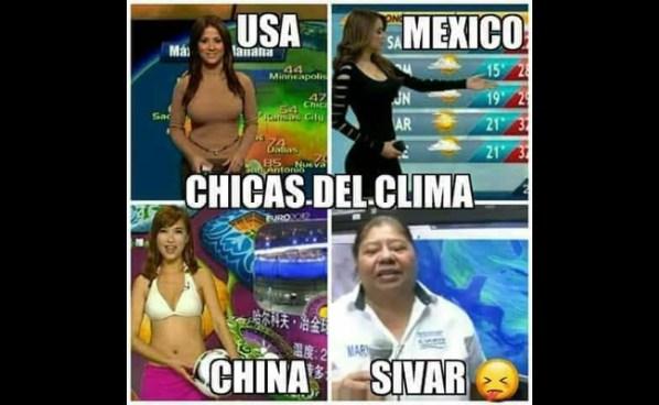 """Esto opina """"La chica del clima salvadoreña"""" de los memes que circulan sobre ella"""