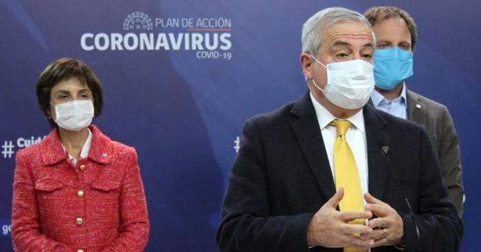 Detectan más de 1.600 nuevos contagios de COVID-19 en Chile