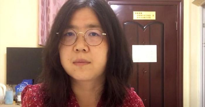Condenan a 4 años de prisión a periodista china que cubrió el inicio del COVID-19 en Wuhan