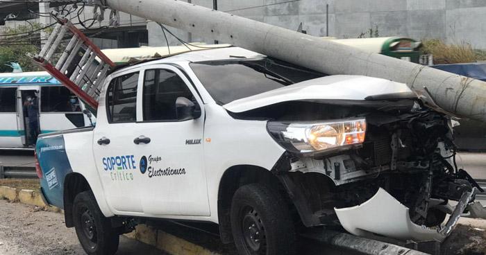 Varios accidentes registrados esta mañana dejan al menos 3 lesionados