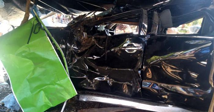 Conductor ebrio choca y deja a 5 lesionados, entre ellos dos menores de edad