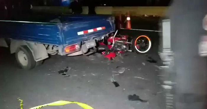 Muere motociclista tras chocar en carretera Panamericana, en San Martín