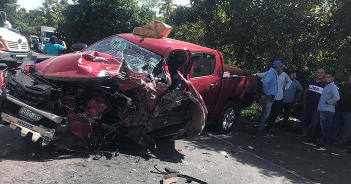 Una menor de edad entre lesionados tras fuerte choque en San Miguel