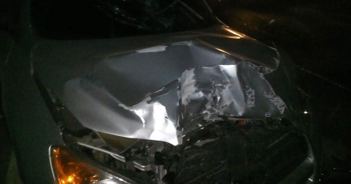 Un muerto y 4 lesionados tras fuerte choque en San Vicente