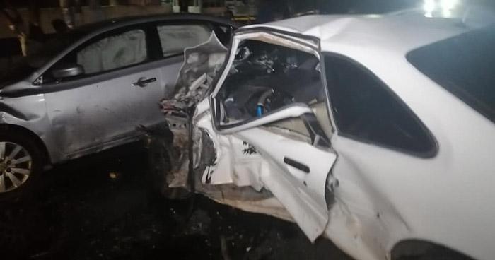 Un fallecido y dos lesionados tras triple choque en Usulután