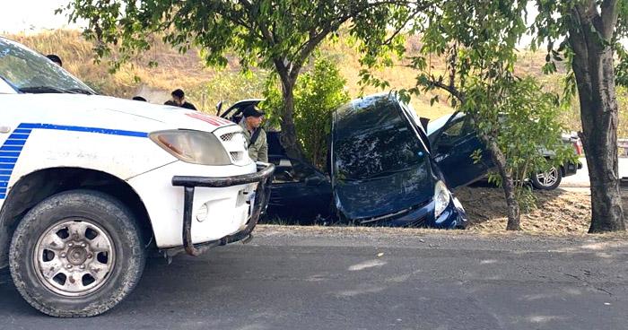 Múltiple accidente en carretera de Oro deja varios lesionados