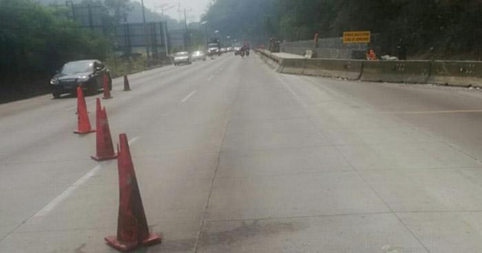 Modifican horarios de circulación sobre Autopista Los Chorros para este fin de semana