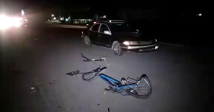 Ciclista muere tras ser arrollado en carretera a Santa Ana