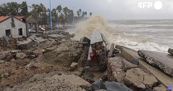 Al menos 9 muertos deja ciclón Yaas en India y Bangladés