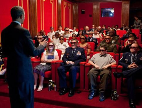 La Casa Blanca abrió su sala de cine a los visitantes