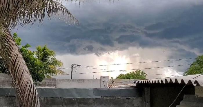 Probabilidad de lluvia con énfasis en la franja costera del oriente del país