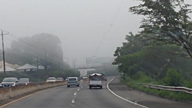 Probabilidad de lluvias influenciadas por la salida del sistema de Vaguada