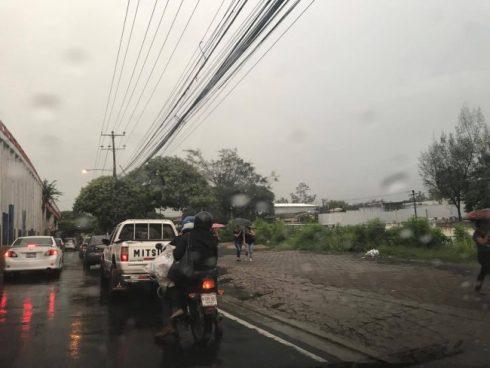 Flujo del Este influenciará tormentas aisladas al centro y occidente del país