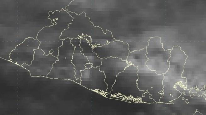 Chubascos dispersos principalmente en la zona oriental y franja norte del país