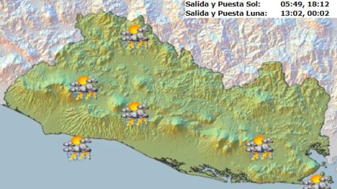 Onda Tropical generara abundante nubosidad y aumenta probabilidad de lluvia para hoy