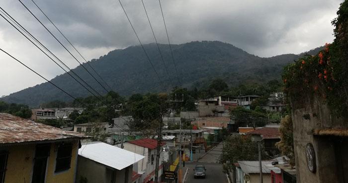 Se esperan lluvias para este martes con énfasis en la zona norte y cadena volcánica del del país