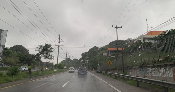 Se esperan lluvias sobre el territorio nacional por acercamiento de una Onda Tropical