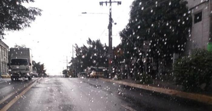Probabilidad de lluvias con énfasis en la zona oriental y central del país