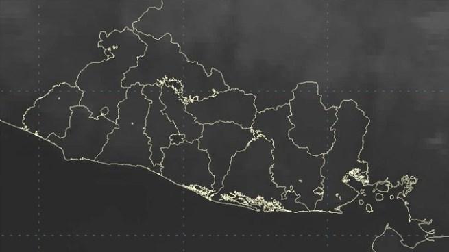 Hoy persistirán vientos de componente norte sobre el territorio salvadoreño