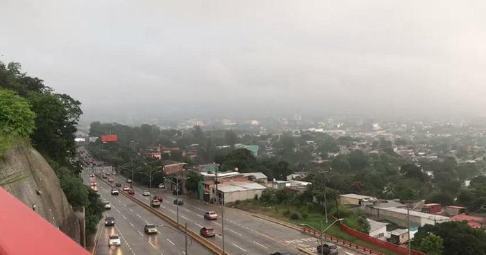 Probabilidad de lluvias con énfasis en la franja Norte del país