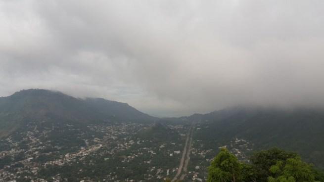 Alta probabilidad de lluvia para este lunes en casi todo el territorio salvadoreño