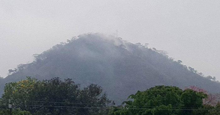 Probabilidad de lluvias débiles y aisladas en la zona occidental del país