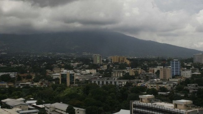 Cielo nublado con lluvias de moderadas a fuertes en todo el territorio nacional